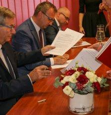 Trzy powiaty podpisały ramowe porozumienie o współpracy i partnerstwie