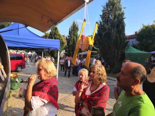 OPP na Dożynkach Wojewiódzkich w Opatowie 2019 r.